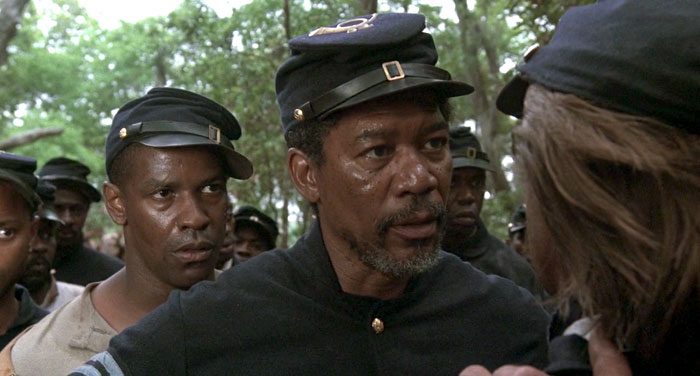 racism in the movie glory Keep exploring beaches, wounds and injuries, islands, georgia, boston (ma ), reporters, race relations, racism, slavery--emancipation, generals.